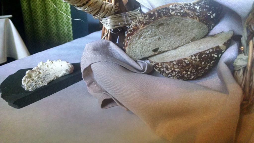 Heirloom Restaurant - Pretzel Bread, Whipped Honey Mustard Butter