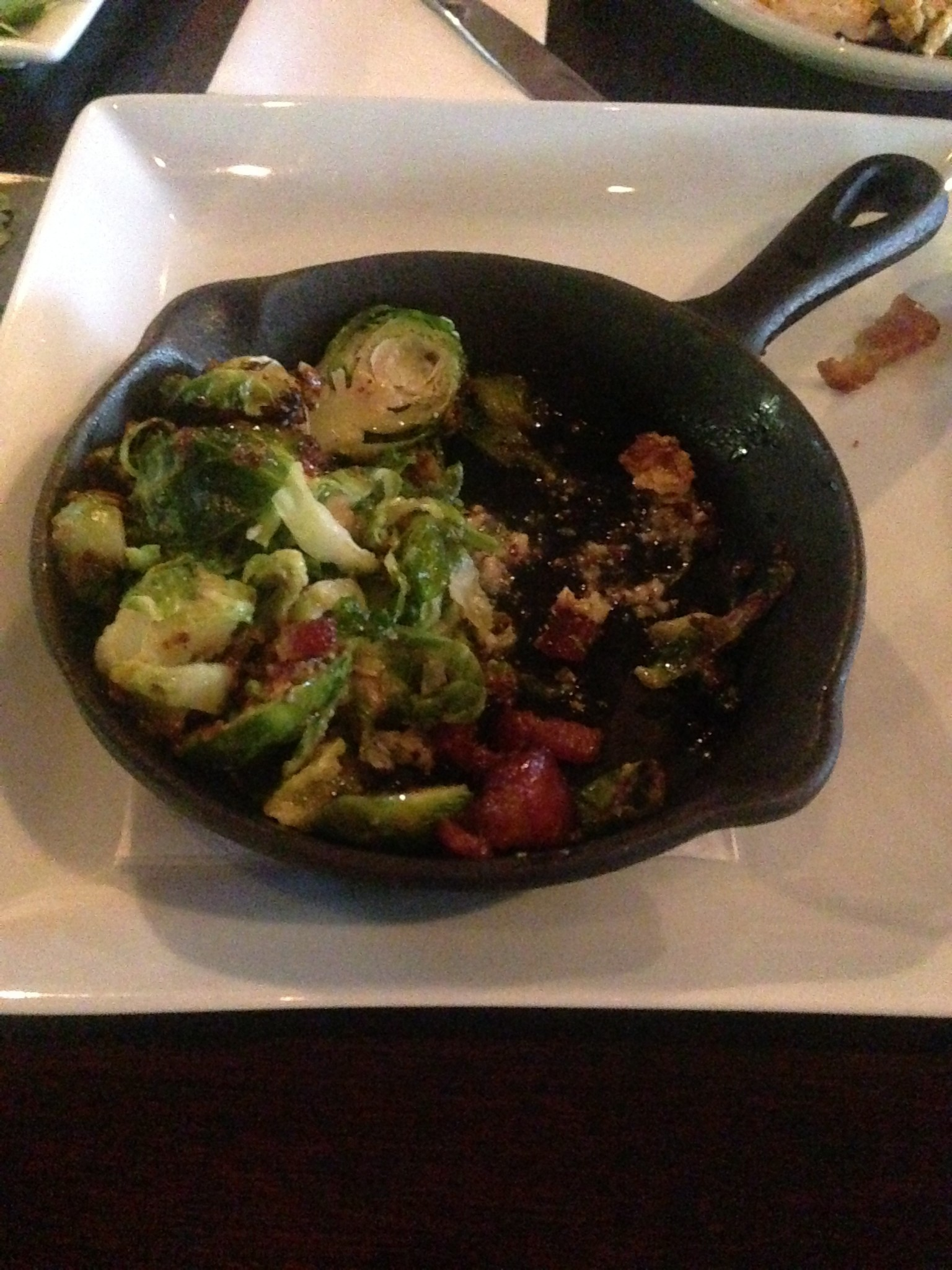 Davidson Street Public House - Brussels Sprouts